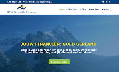 RTW financiële planning